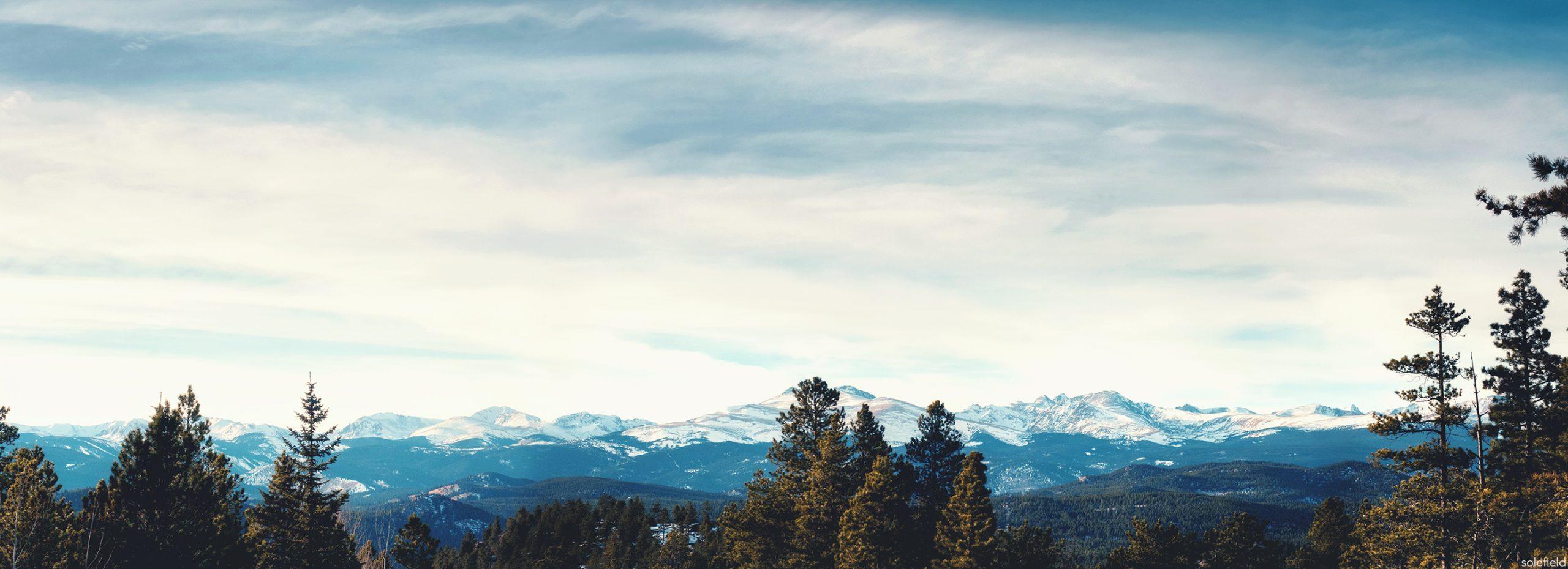 Colorado Mountain Panorama
