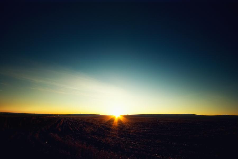 Sunrise in the Darkness