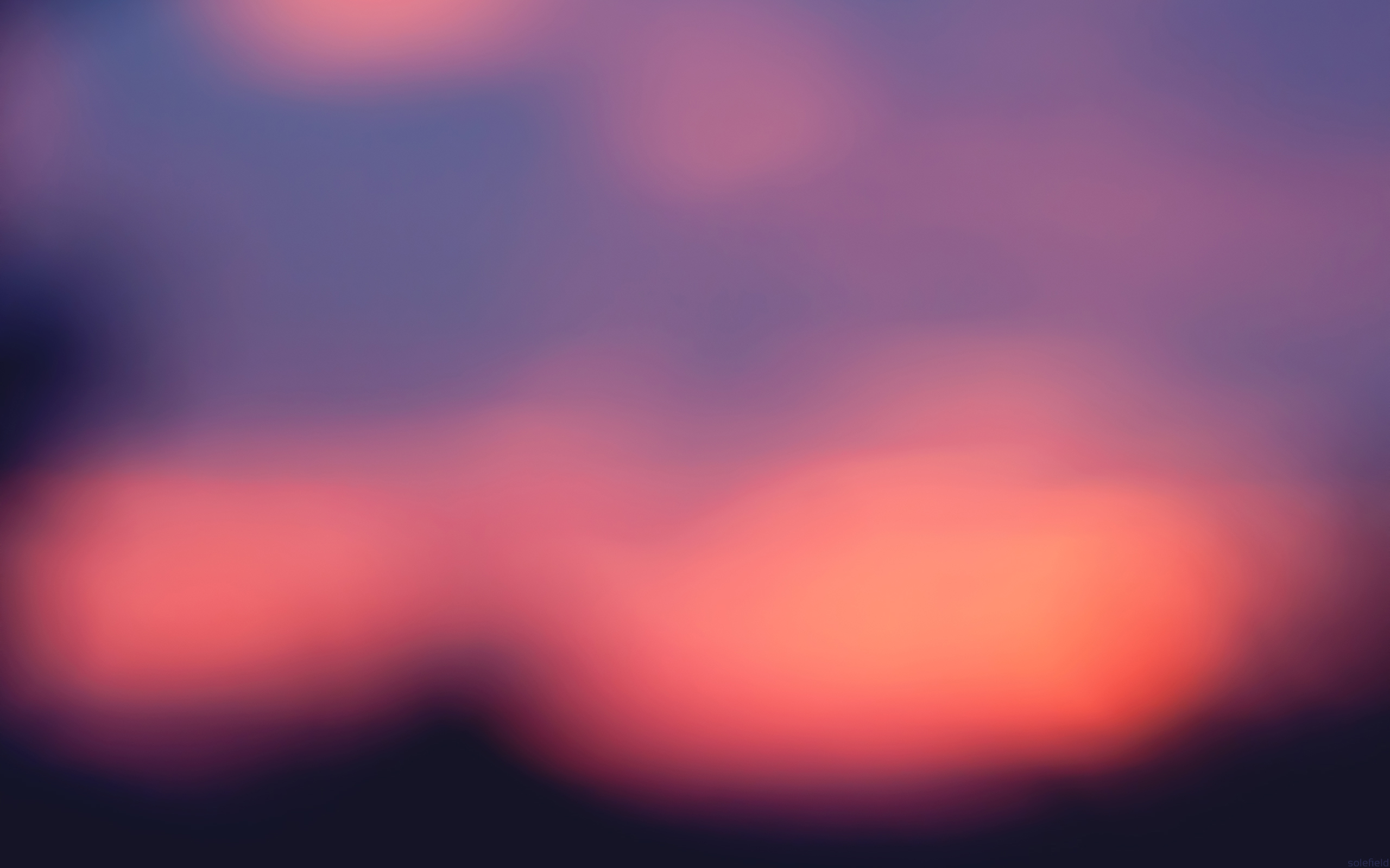 Abstract Sunset in purple and pink