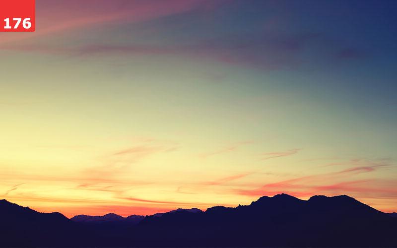 Mountain Sunset Wallpaper