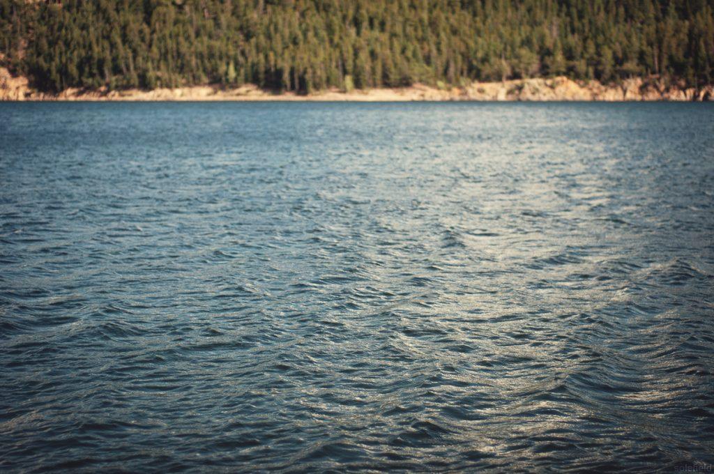 Peaceful Lake Scene
