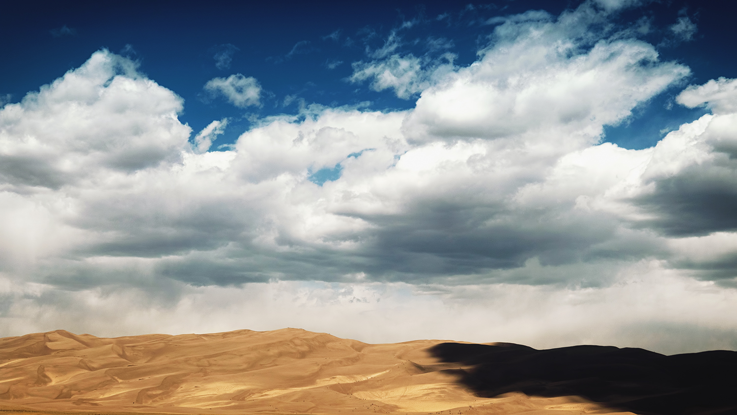 Clouds over Great Sand Dunes Park