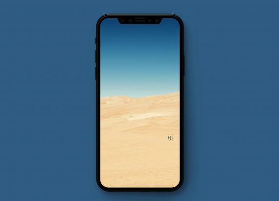 Sand Dunes iPhone Wallpaper