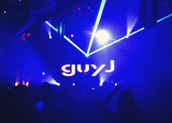 Guy J DJing
