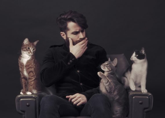 Coyu with cats