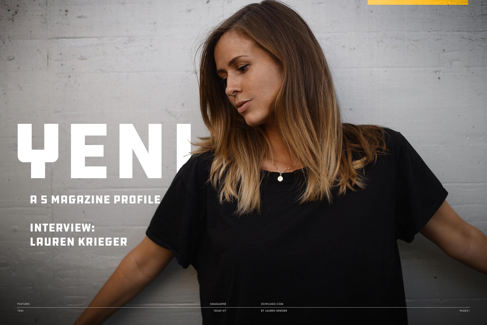Yeni Magazine Interview