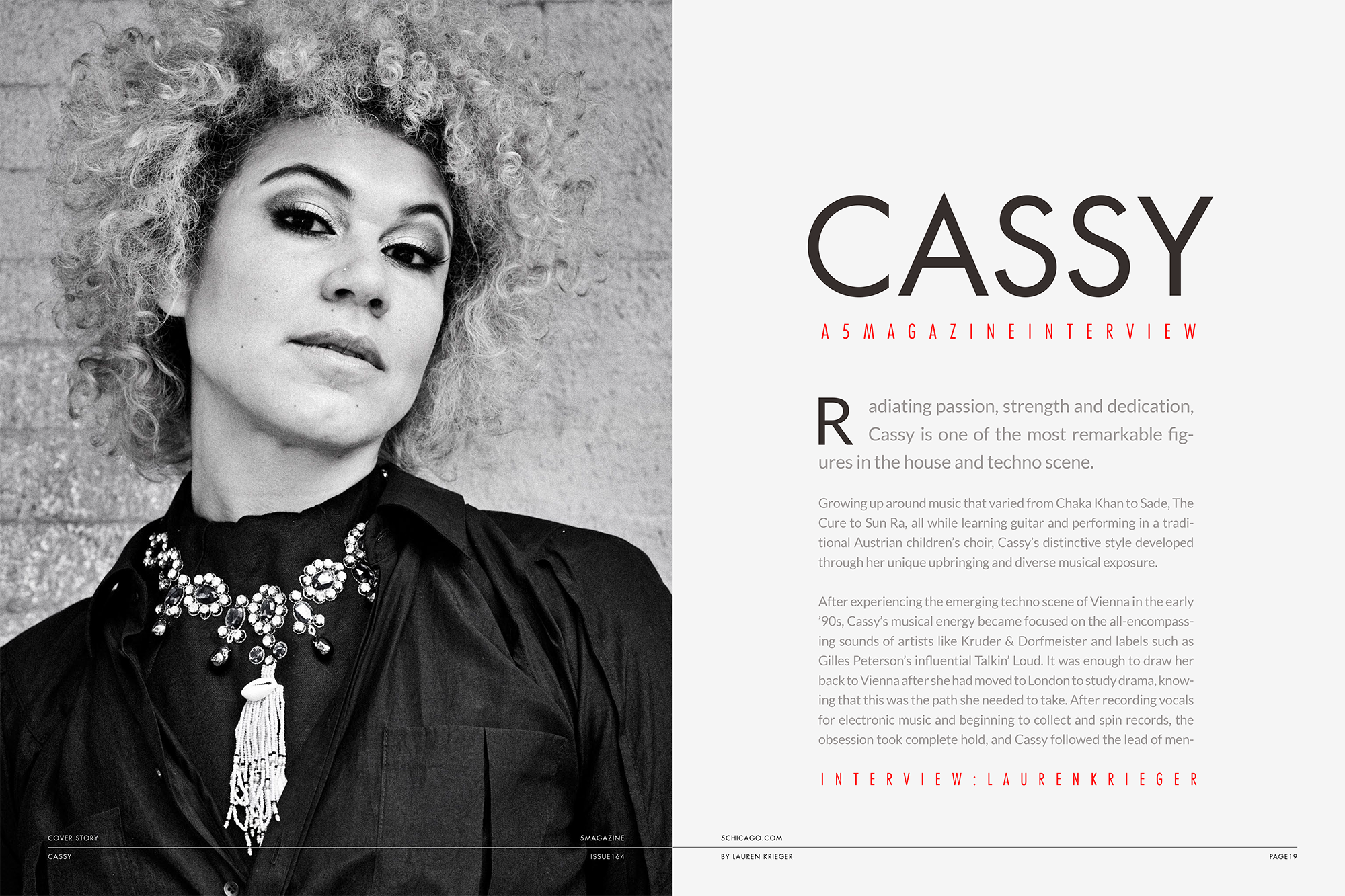 Cassy Interview with 5Mag