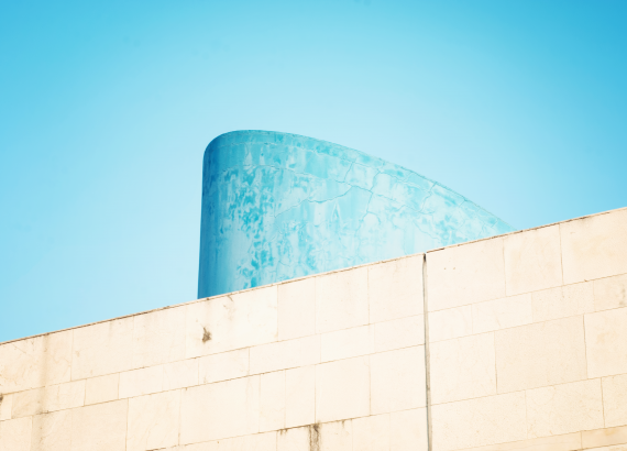 Minimal Architecture with Blue
